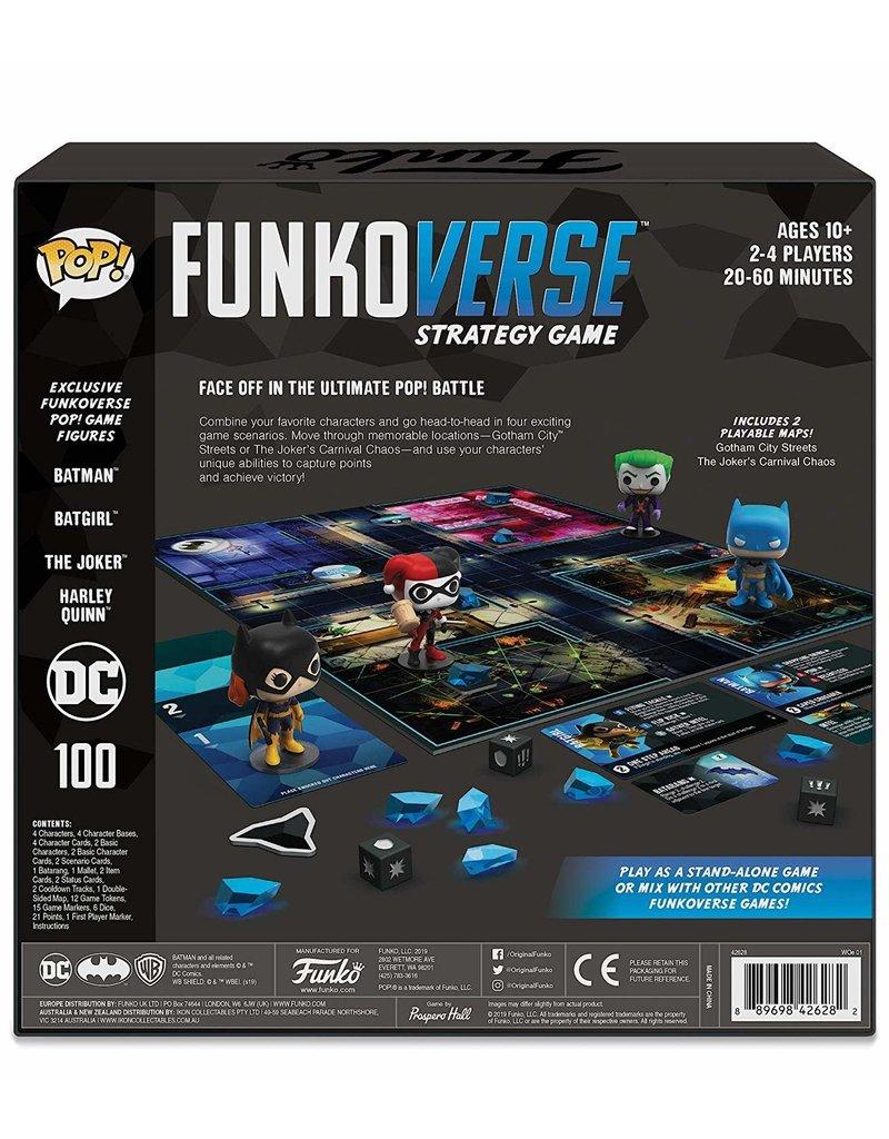 FUNKO POP! DC Comics Funkoverse 100 Base Set