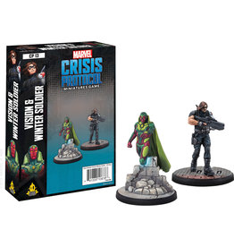 ANA Asmodee Studios Vision & Winter Soldier Character Pack Marvel: Crisis Protocol