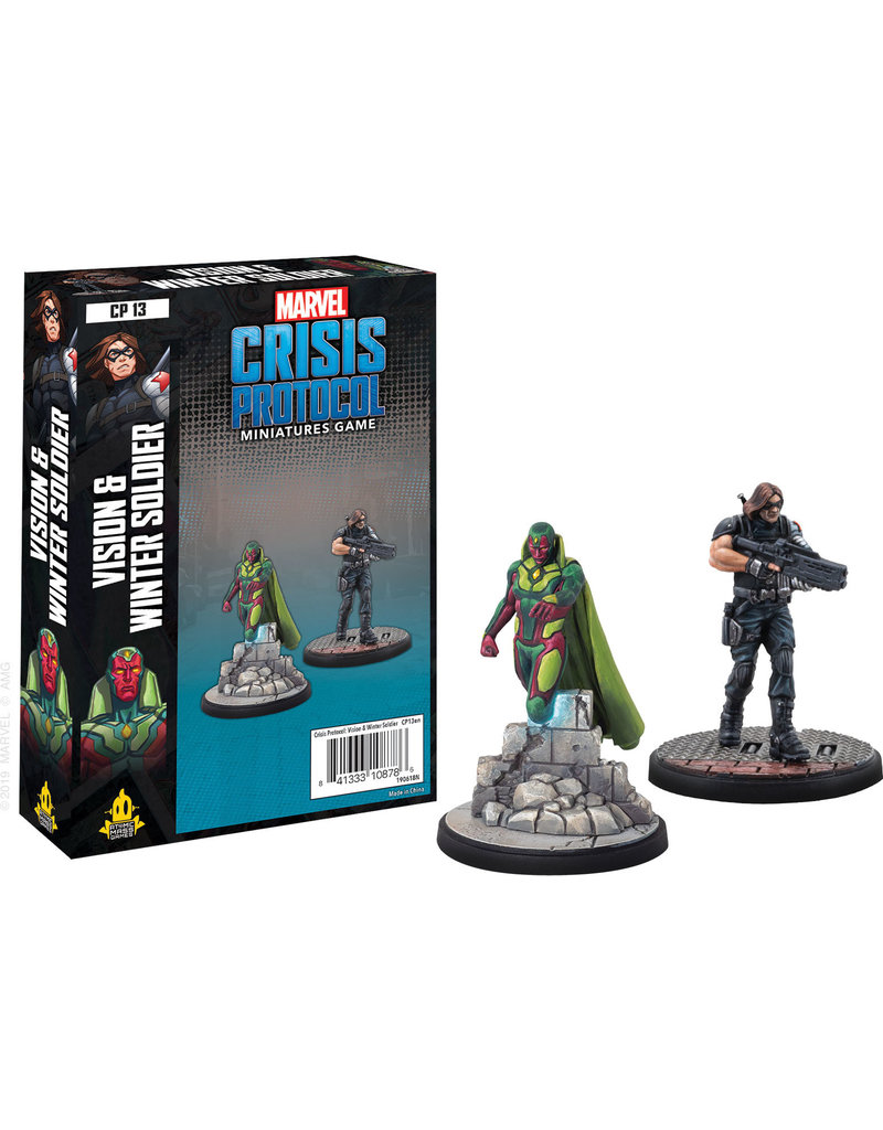 ANA Asmodee Studios Vision and Winter Soldier Character Pack Marvel: Crisis Protocol