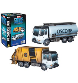 ANA Asmodee Studios NYC Commercial Truck Terrain Pack Marvel: Crisis Protocol