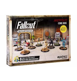 Modiphius Fallout: Wasteland Warfare Institute Core Box