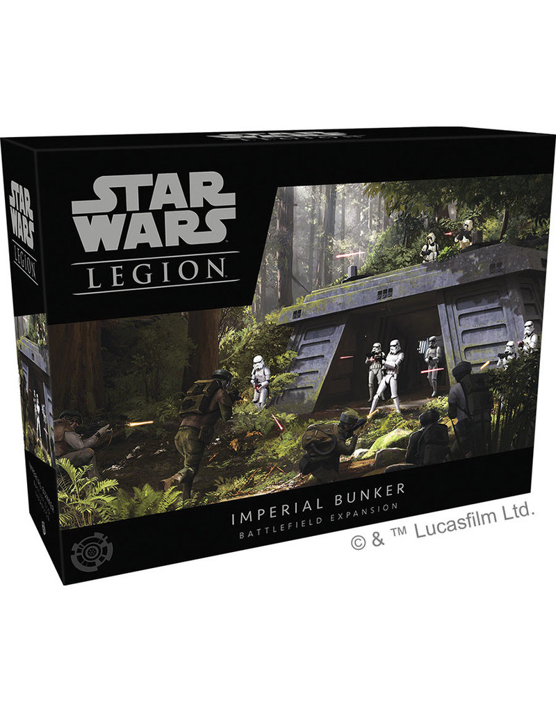 Fantasy Flight Games Imperial Bunker Battlefield SW Legion
