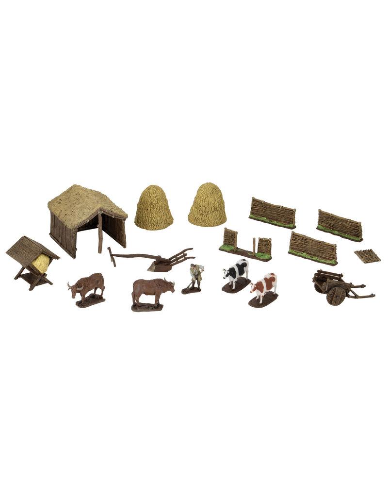 WIZKIDS/NECA Medieval Farmer 4D Settings