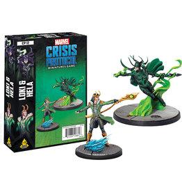 ANA Asmodee Studios Loki & Hela Character Pack Marvel: Crisis Protocol