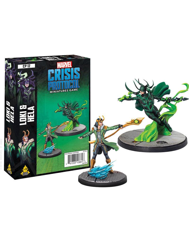 ANA Asmodee Studios Loki and Hela Character Pack Marvel: Crisis Protocol