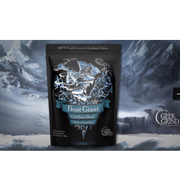 Frost Giant Cold Brew Blend Medium Dark Roast 14oz