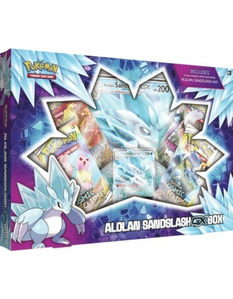 Pokemon USA Pokemon: Alolan Sandslash GX