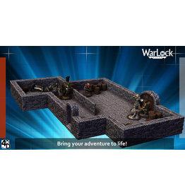 WIZKIDS/NECA Warlock Dungeon Tiles: Core Set