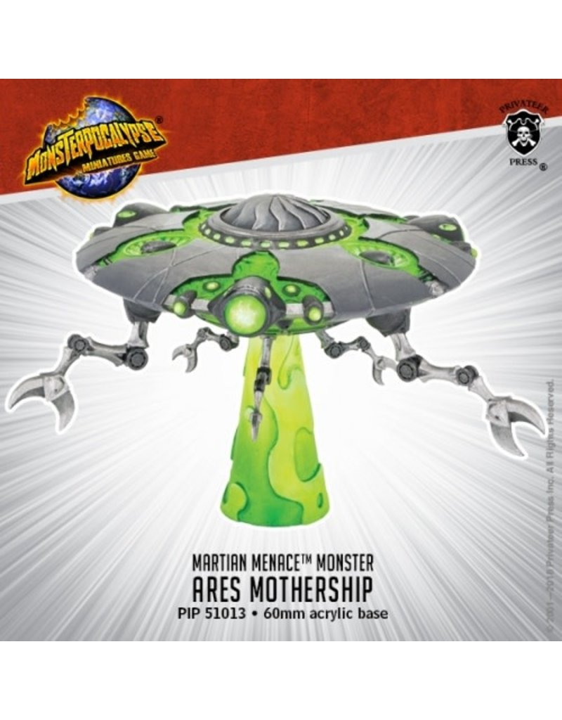 Privateer Press Ares Mothership Monster Martian Menace Monsterpocalypse