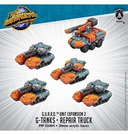 Privateer Press Tanks & Repair Monsterpocalypse Guard