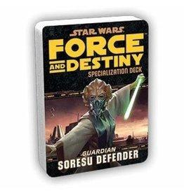 Fantasy Flight Games SW F&D RPG Soresu Defender Specialization Deck