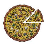 Stellar Factory Pizza Puzzles: Veggies Supreme