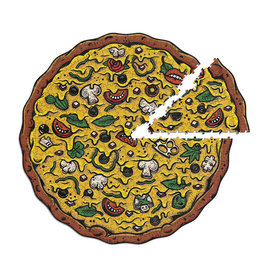 Stellar Factory Pizza Puzzles: Veggies Supreme