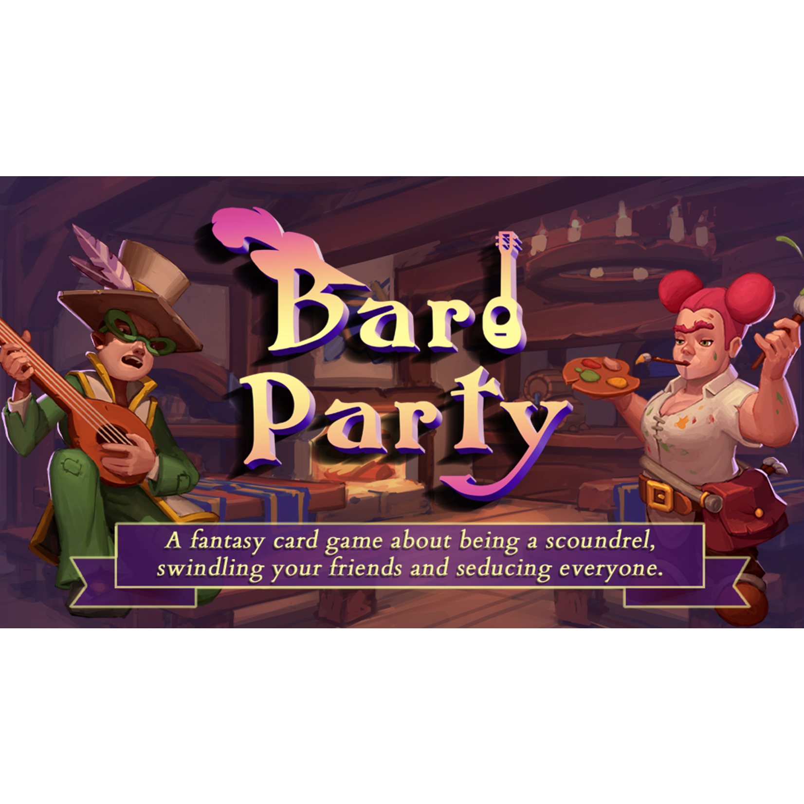 Wits & Giggles Gaming Bard Party KS