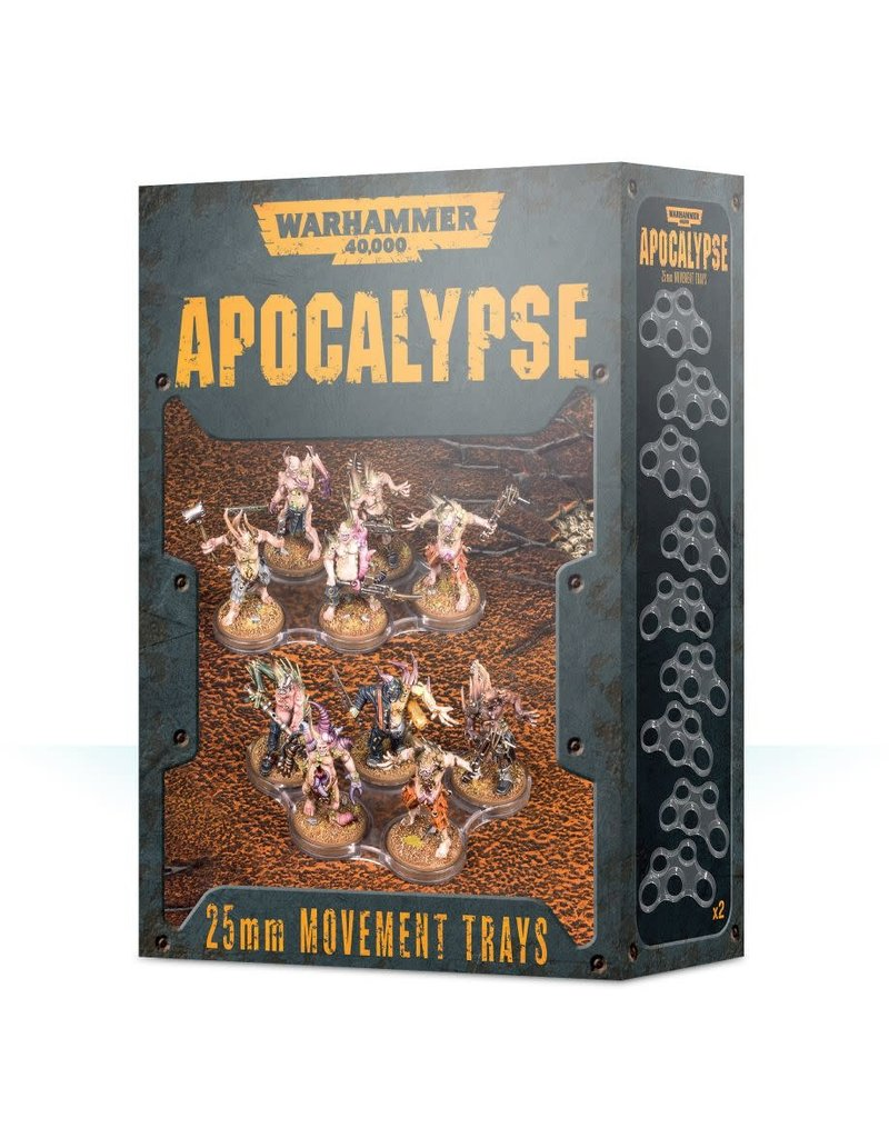 Games Workshop Apocalypse 32mm Movement Trays