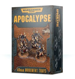 GW 40K Apocalypse 40mm Movement Trays
