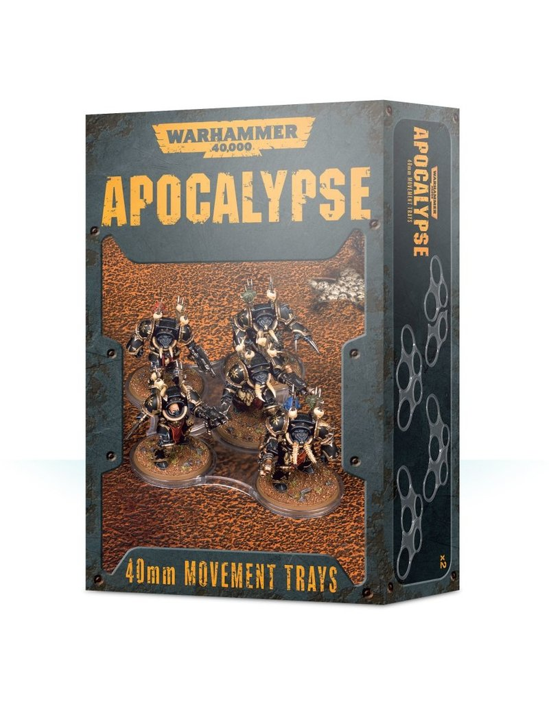 Games Workshop Apocalypse 40mm Movement Trays