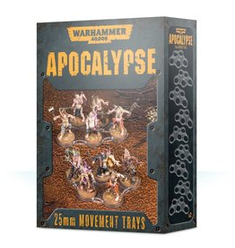 GW 40K Apocalypse 25mm Movement Trays