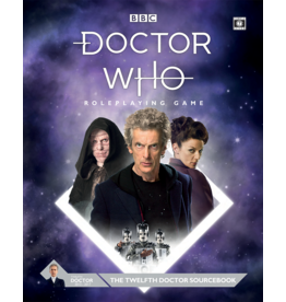 Cubical 7 Doctor Who RPG: Twelfth Doctor Sourcebook