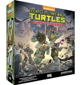 IDW Teenage Mutant Ninja Turtles Change is Constant