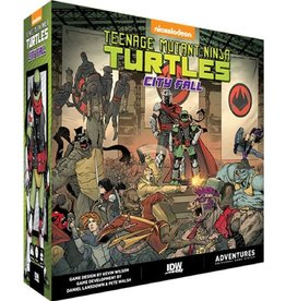 IDW Teenage Mutant Ninja Turtles City Fall
