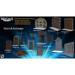 WIZKIDS/NECA WarLock Tiles Doors & Archways