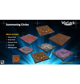 WIZKIDS/NECA WarLock Tiles: Summoning Circles