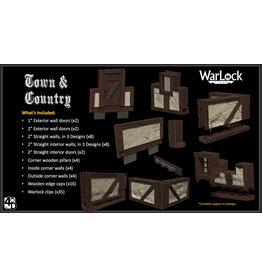 WIZKIDS/NECA WarLock Tiles Town & Village
