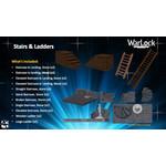 WIZKIDS/NECA Warlock Stairs & Ladders