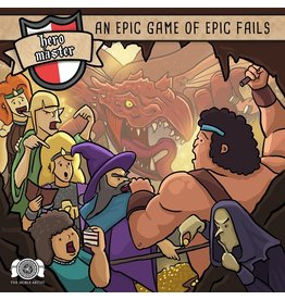 Indie Boards & Cards Hero Master: An Epic Game of Epic Fails KS