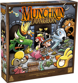 CMON Munchkin Dungeon + Side Quest Expansion KS