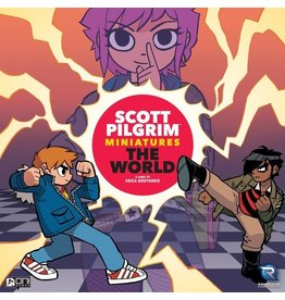 Renegade Game Studios Scott Pilgrim Miniatures the World All In Painted kS