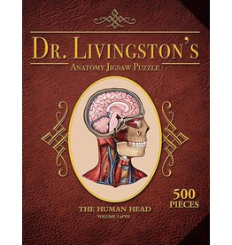 Genius Games Dr. Livingston's Anatomy Puzzle Head