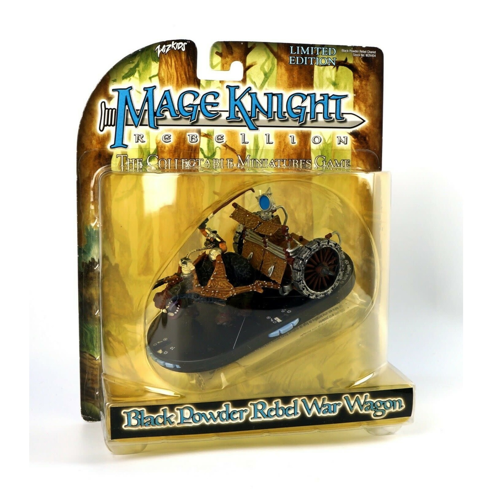 WIZKIDS/NECA Black Powder Rebel War Wagon Atlantean Ram