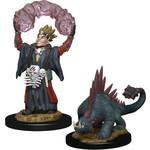 WIZKIDS/NECA Wardlings Boy Warlock & Lizard W3