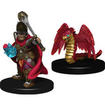 WIZKIDS/NECA Wardlings Boy Cleric & Winged Snake W1