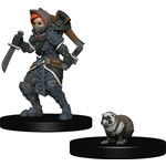 WIZKIDS/NECA Wardlings Girl Rogue & Badger W1