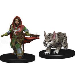 WIZKIDS/NECA Wardlings Girl Ranger & Lynx W1