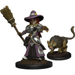 WIZKIDS/NECA Wardlings Girl Witch & Witch's Cat W3