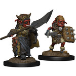 WIZKIDS/NECA Wardlings Goblin (Male & Female) W3