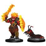 WIZKIDS/NECA Wardlings Fire Orc & Fire Centipede W4