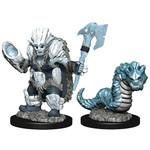 WIZKIDS/NECA Wardlings Ice Orc & Ice Worm W4