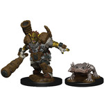 WIZKIDS/NECA Wardlings Mud Orc & Mud Puppy W4