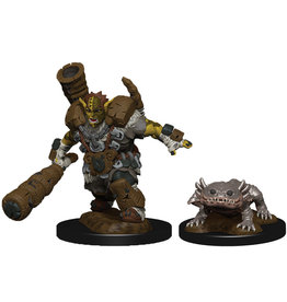 WIZKIDS/NECA Wardlings Mud Orc & Mud Puppy W4
