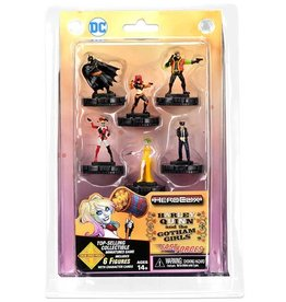 WIZKIDS/NECA DC HeroClix: Harley Quinn and the Gotham Girls Fast Forces