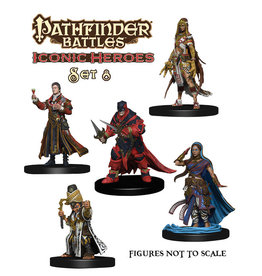 WIZKIDS/NECA Pathfinder Battles: Iconic Heroes Box Set 8