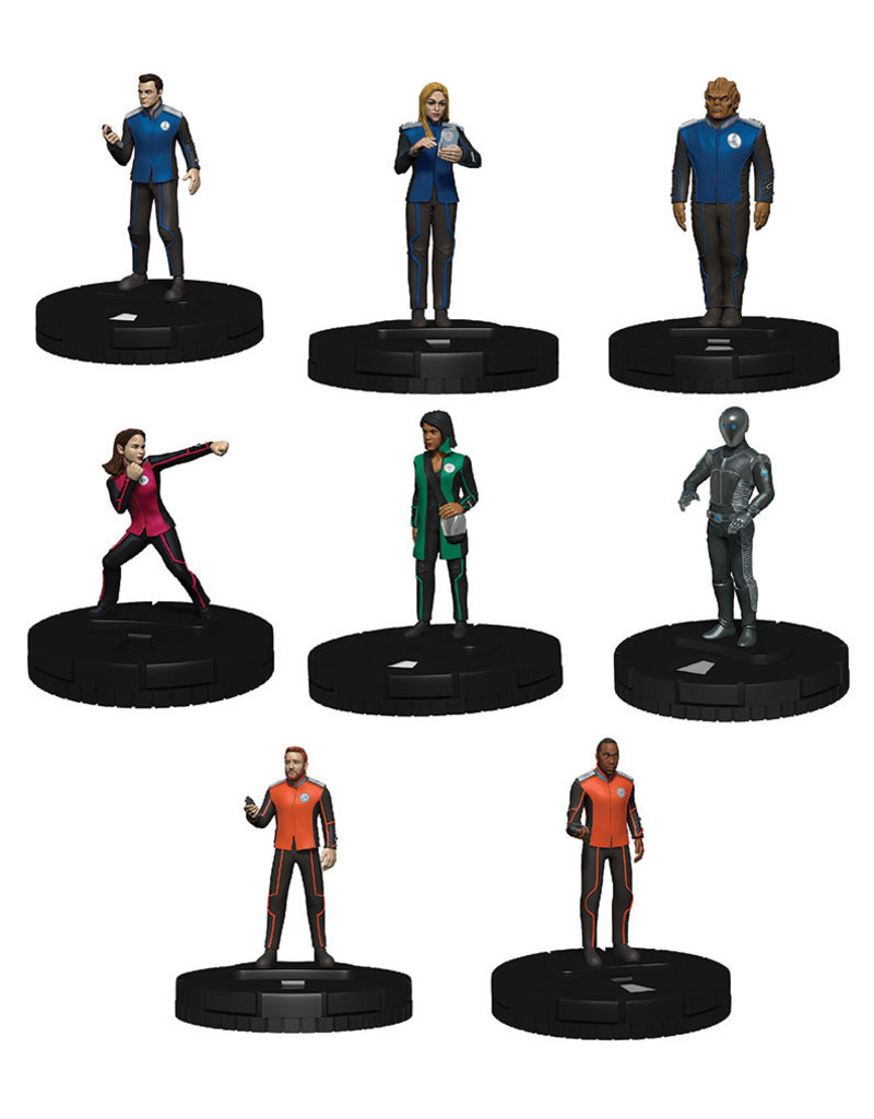 WIZKIDS/NECA The Orville HeroClix: 2-Player Starter Set