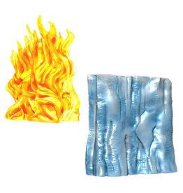 WIZKIDS/NECA D&D Spell Effects Wall of Fire & Wall of Ice
