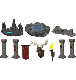WIZKIDS/NECA Fantasy Terrain Painted Pools & Pillars