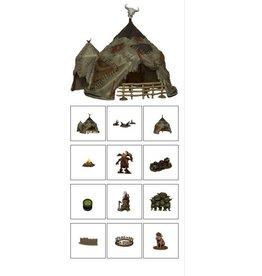 WIZKIDS/NECA Goblin Village Premium Set PFB Legendary Adventures